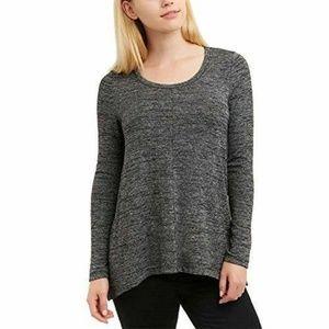NEW JONES NEW YORK  Long Sleeve Knit Top Blouse
